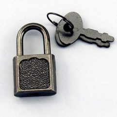 Antique Style Lock and Key