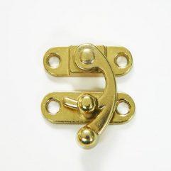 Brass Ox Horn Swing Catch