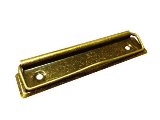 Rustic Style Brass Clipboard Clip Large