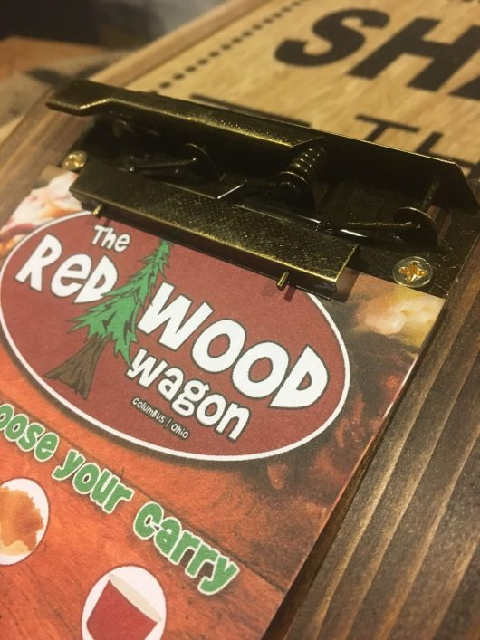 Rustic Industrial Restaurant Menu Clipboards