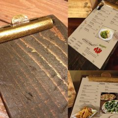 Restaurant Menu Clipboards