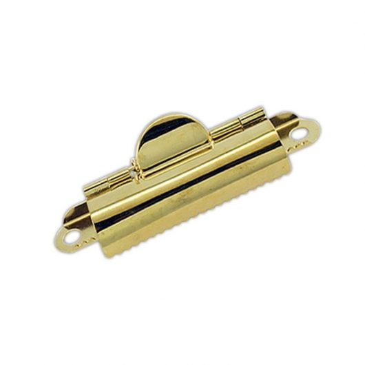 Small Brass Domed Clipboard Clip
