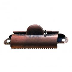 Rustic Copper Style Small Domed Clipboard Clip