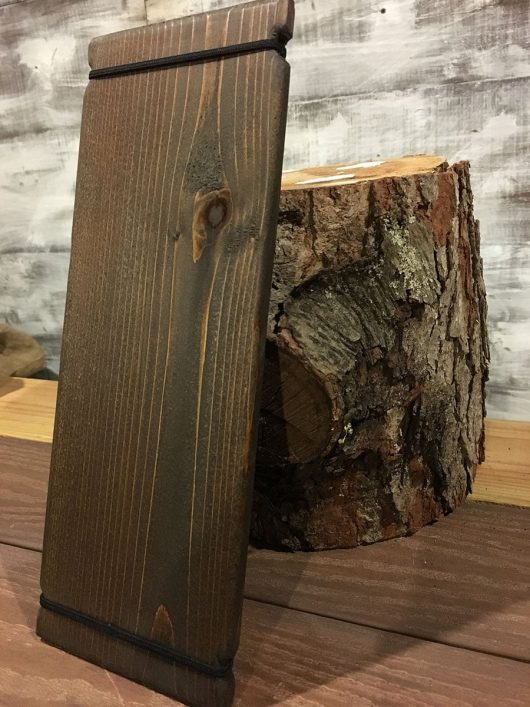 Wood Drink Menu Boards with Bands